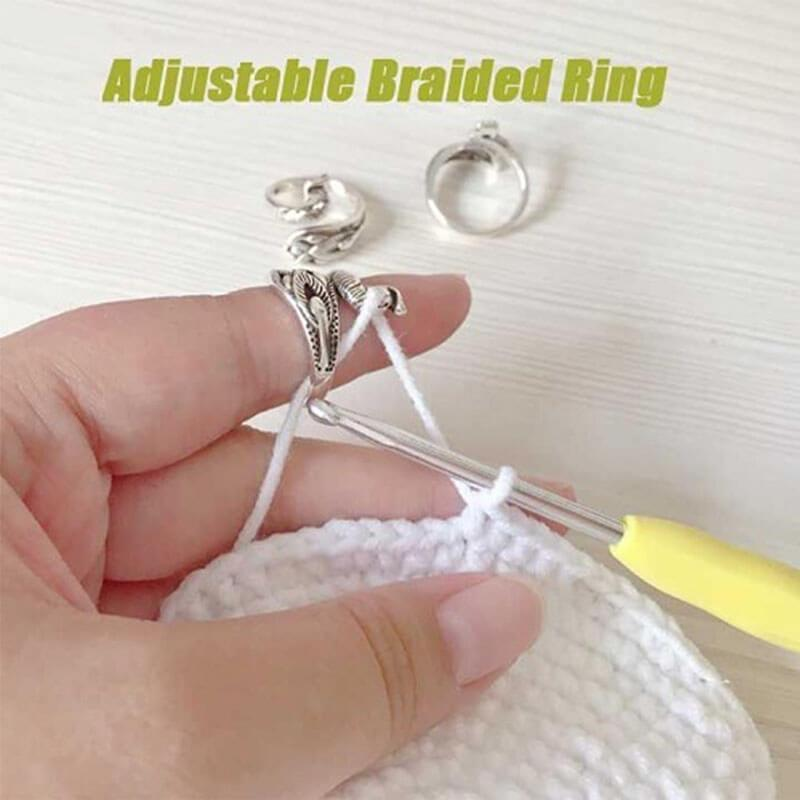 Adjustable Knitting Loop Crochet Loop Knitting Accessories