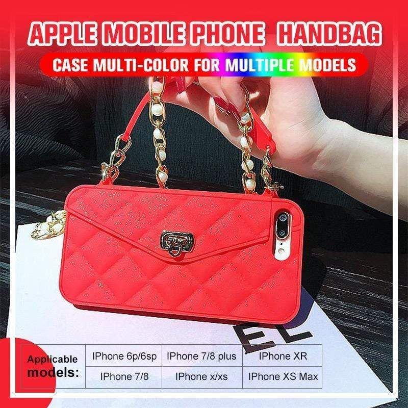 Apple mobile phone case handbag multi-color for multiple models(Buy 2 for free shipping)