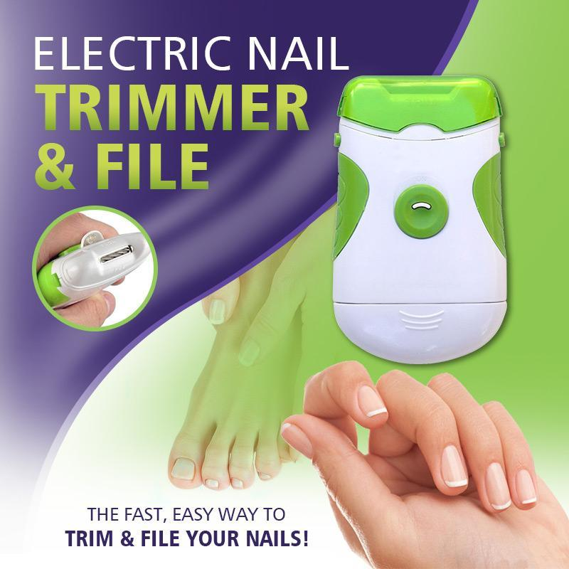 Electric Nail Trimmer & File (50% OFF)
