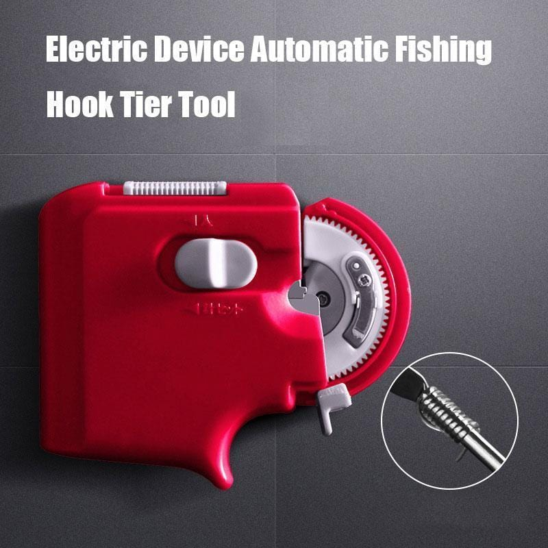Electric Device Automatic Fishing Hook Tier