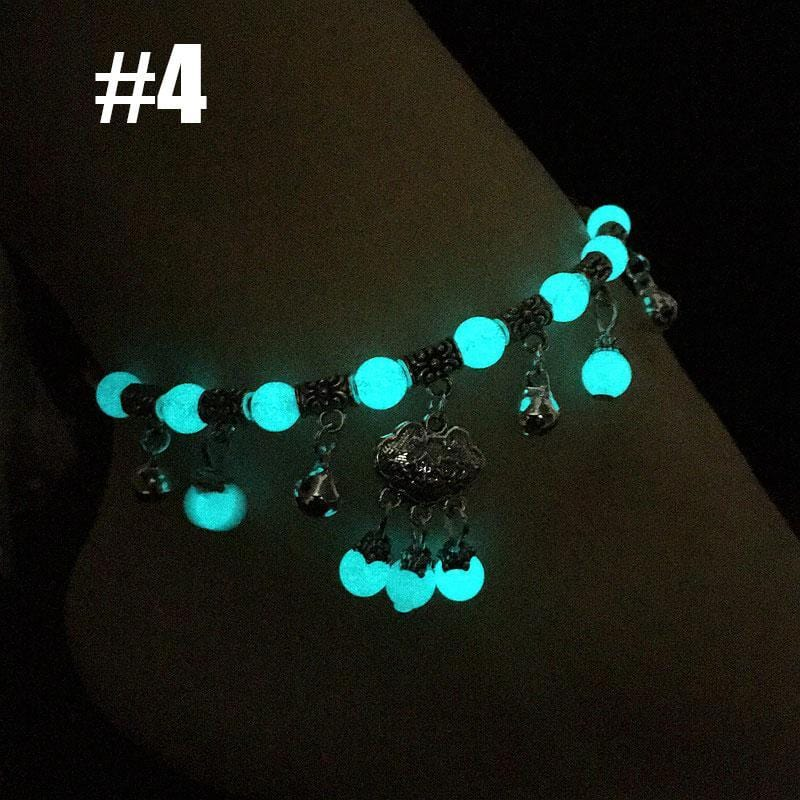 Luminous Glowing Multilayer Charm Anklet