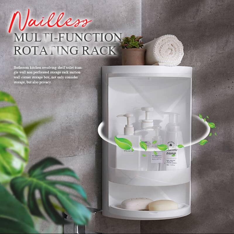 Nailless Multi-function Rotating Rack