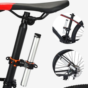 360-Degree Rotation Bicycle Light Mounting Holder