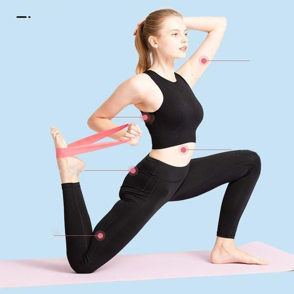 Exercise Resistance Loop Bands 5pcs