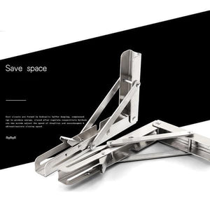 Folding Shelf Bracket (2pcs/set)