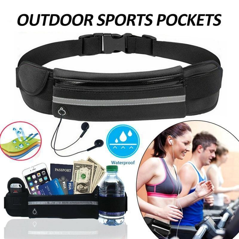 Waterproof Running Waist Belt Bag(In Stock/Ship Within 2 Days)