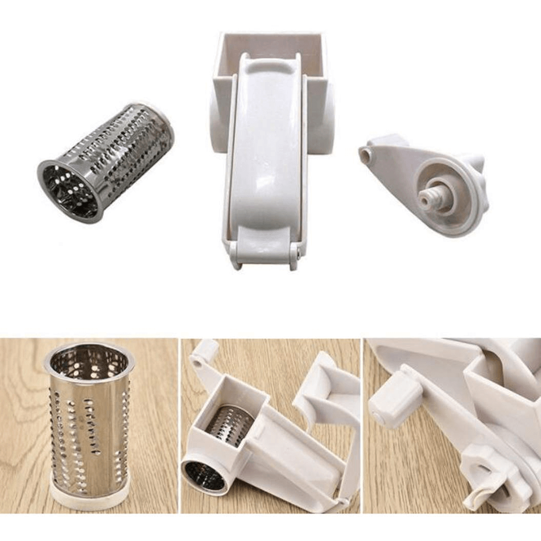 Manual Cutter Rotary Cheese Graters