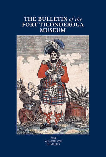Book cover with blue background and image of Scottish soldier and title