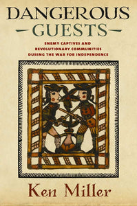 "Book cover with colonial image and title ""Dangerous Guests"""