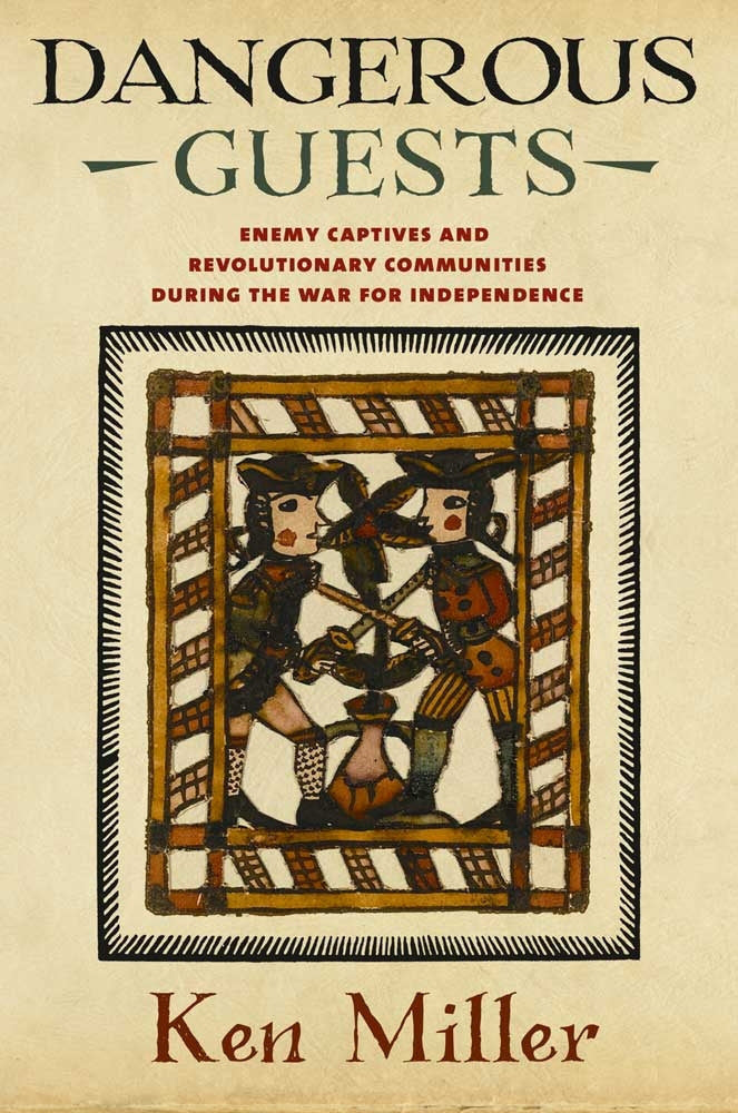 Book cover with colonial image and title
