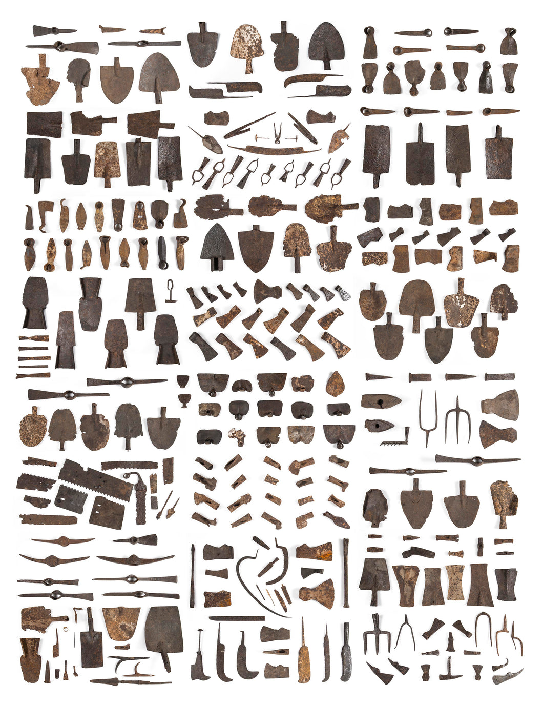 image of various tools in the collection