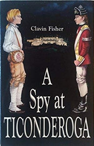 book cover with two colonial boy soldier figures and title
