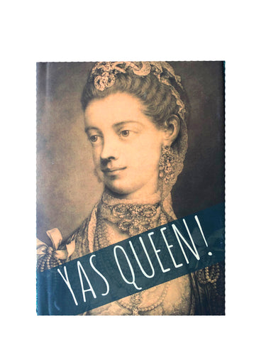 YAS Queen! Hard Cover Notebook