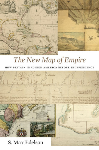 Book cover with various historical maps with title