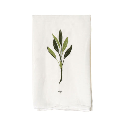 Tea Towel - Sage