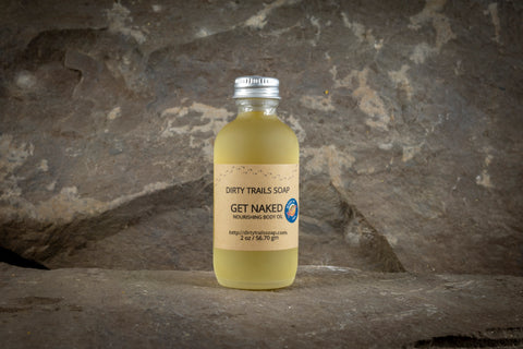 Body Oil - Get Naked - Dirty Trails Soap