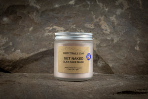 Clay Face Mask - Get Naked