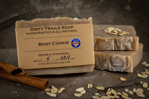 Soap - Body Cookie - Dirty Trails Soap