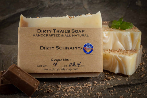 Soap - Dirty Schnapps - Dirty Trails Soap