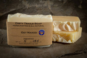 Soap - Get Naked - Dirty Trails Soap