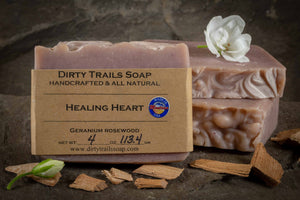 Soap - Healing Heart - Dirty Trails Soap