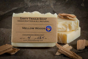 Soap - Mellow Woods - Dirty Trails Soap