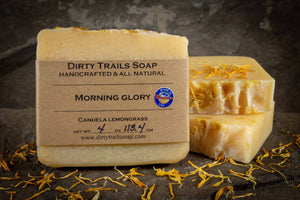 Soap - Morning Glory - Dirty Trails Soap