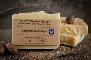 Soap - Mountain Hippie - Dirty Trails Soap