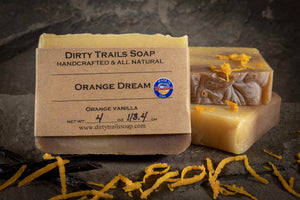 Soap - Orange Dream - Dirty Trails Soap