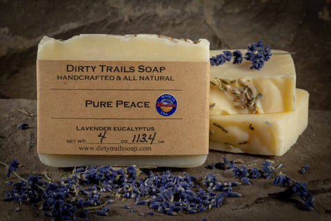 Soap - Pure Peace - Dirty Trails Soap