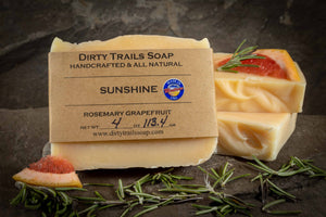 Soap - Sunshine - Dirty Trails Soap