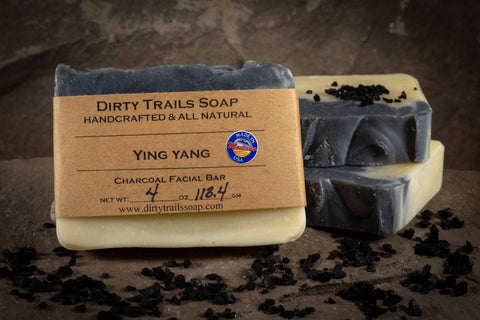Soap - Ying Yang Facial Bar - Dirty Trails Soap