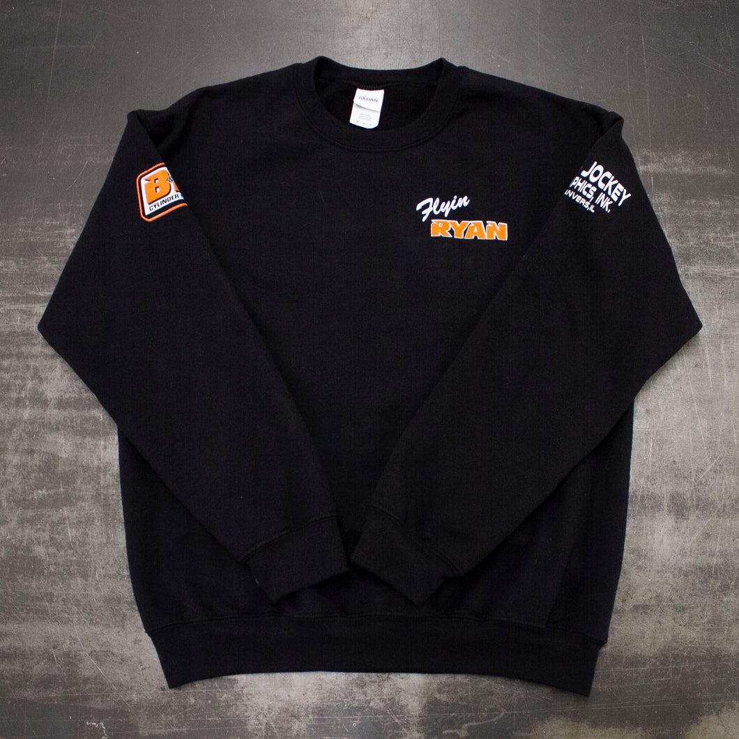 Flyin Ryan Racing crew neck sweatshirts
