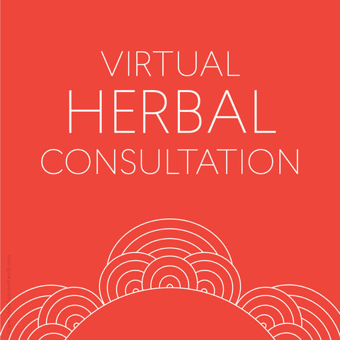 Virtual herbal consultation from Julie Bear Don't Walk Apothecary