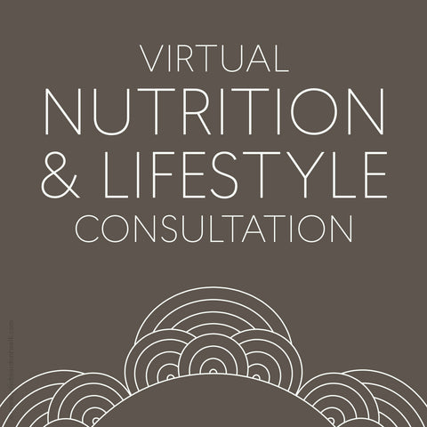 Virtual nutrition and lifestyle consultation from Julie Bear Don't Walk Apothecary