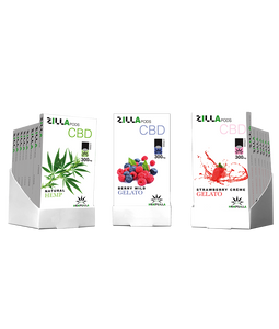 Zilla CBD Pods 300mg 2 pack