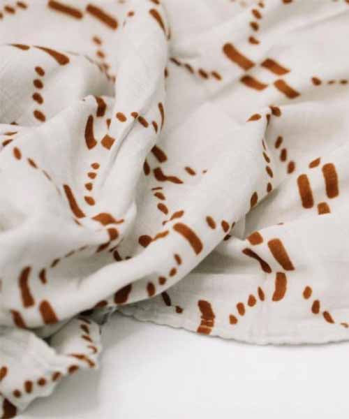 Bamboo Swaddle - Copper