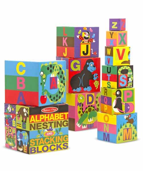 Alphabet Nesting & Stacking Blocks
