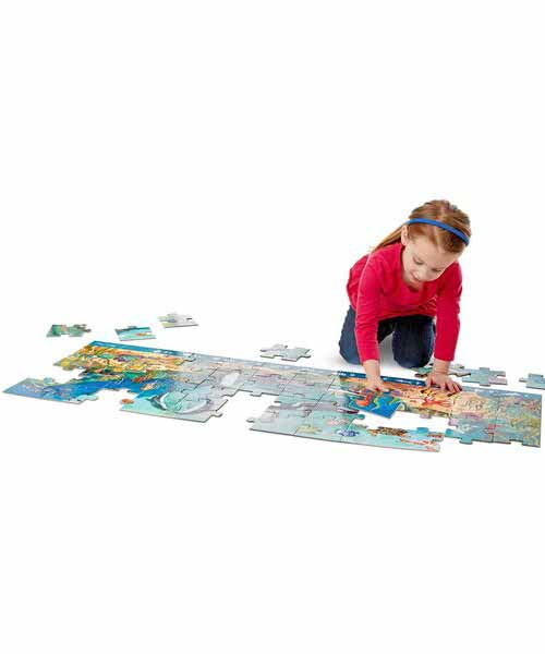 Beneath the Waves Floor Puzzle (48 pc)
