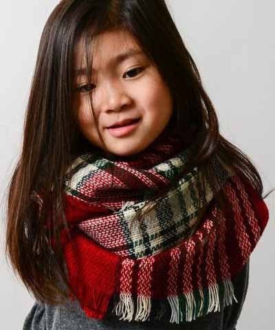 Kids Scarf - Red
