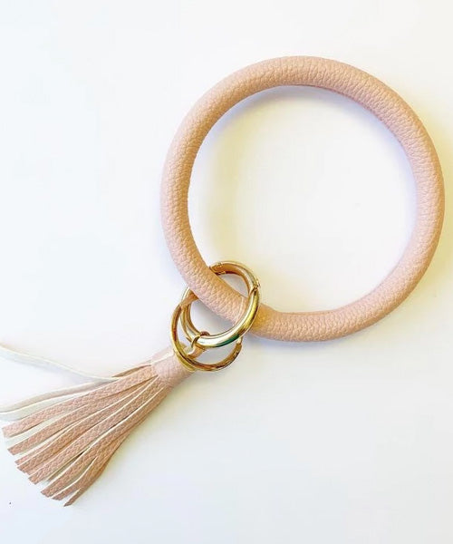 Keychain Bangle - Blush