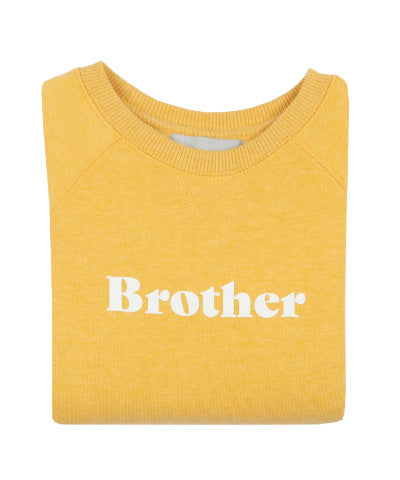 Brother Sweatshirt - Faded Sunshine
