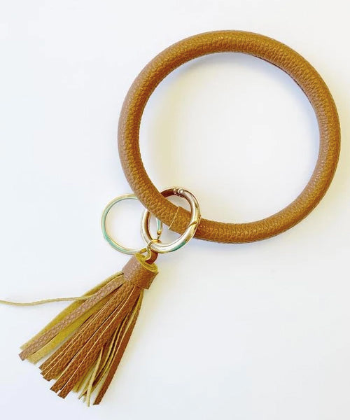 Keychain Bangle - Brown