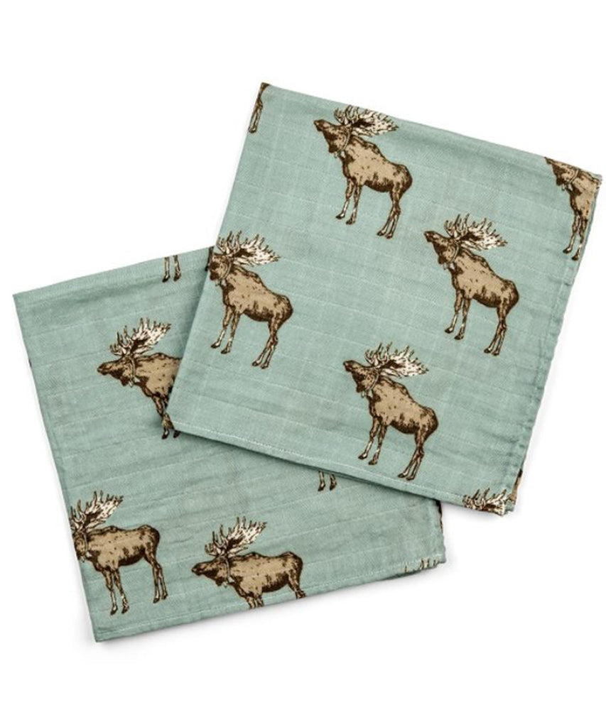 Bamboo Burpies - Bow Tie Moose