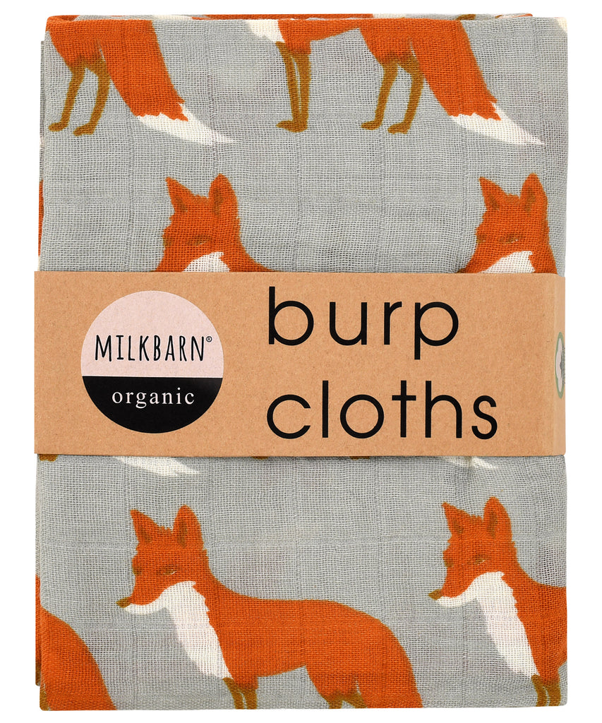 Cotton Burpies - Orange Fox