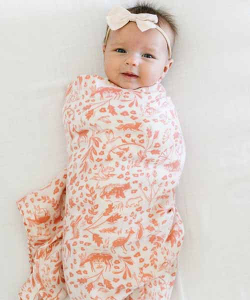 Bamboo Swaddle - Wildwood