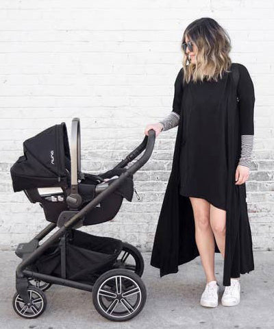 Mommy Claire Cardigan - Black