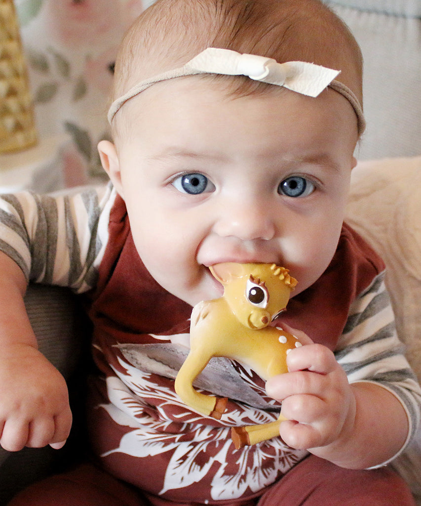 Olive the Deer Bracelet Teether Toy