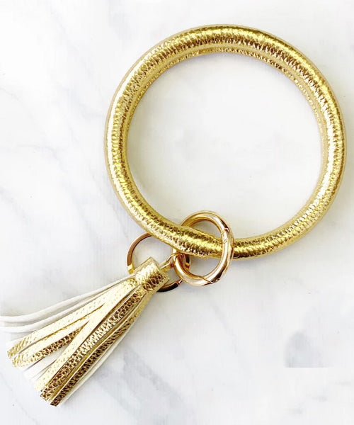 Keychain Bangle - Gold