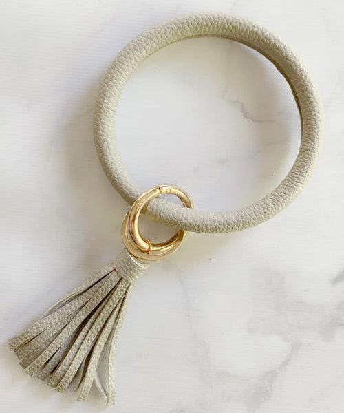 Keychain Bangle - Grey